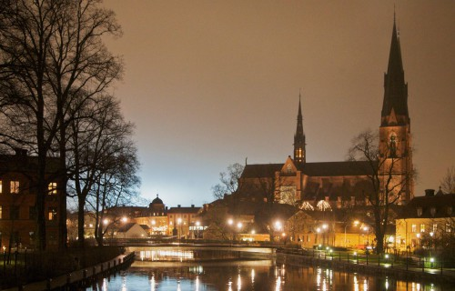Uppsala by night CC