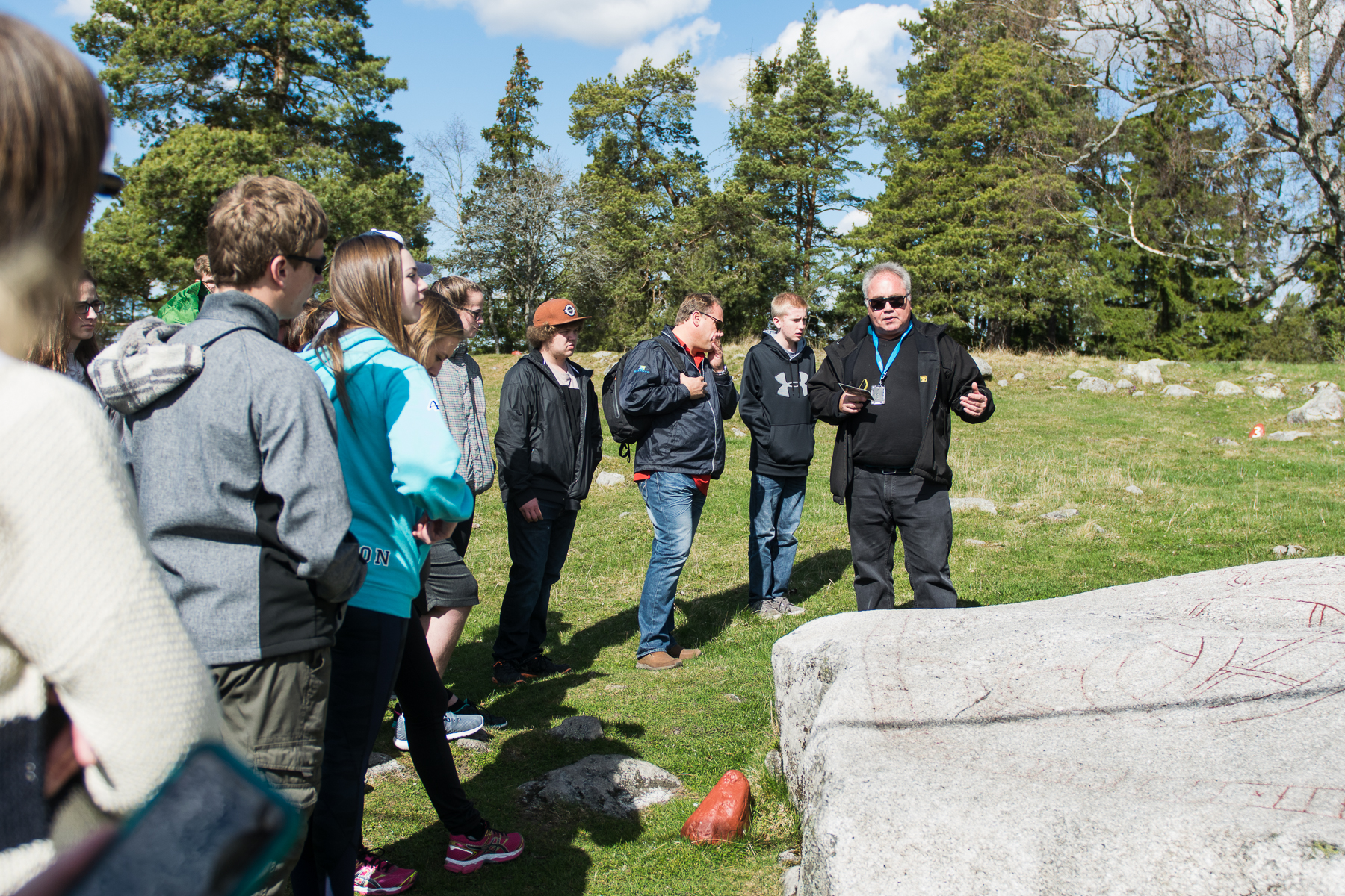 Guided tour at Granbyhällen