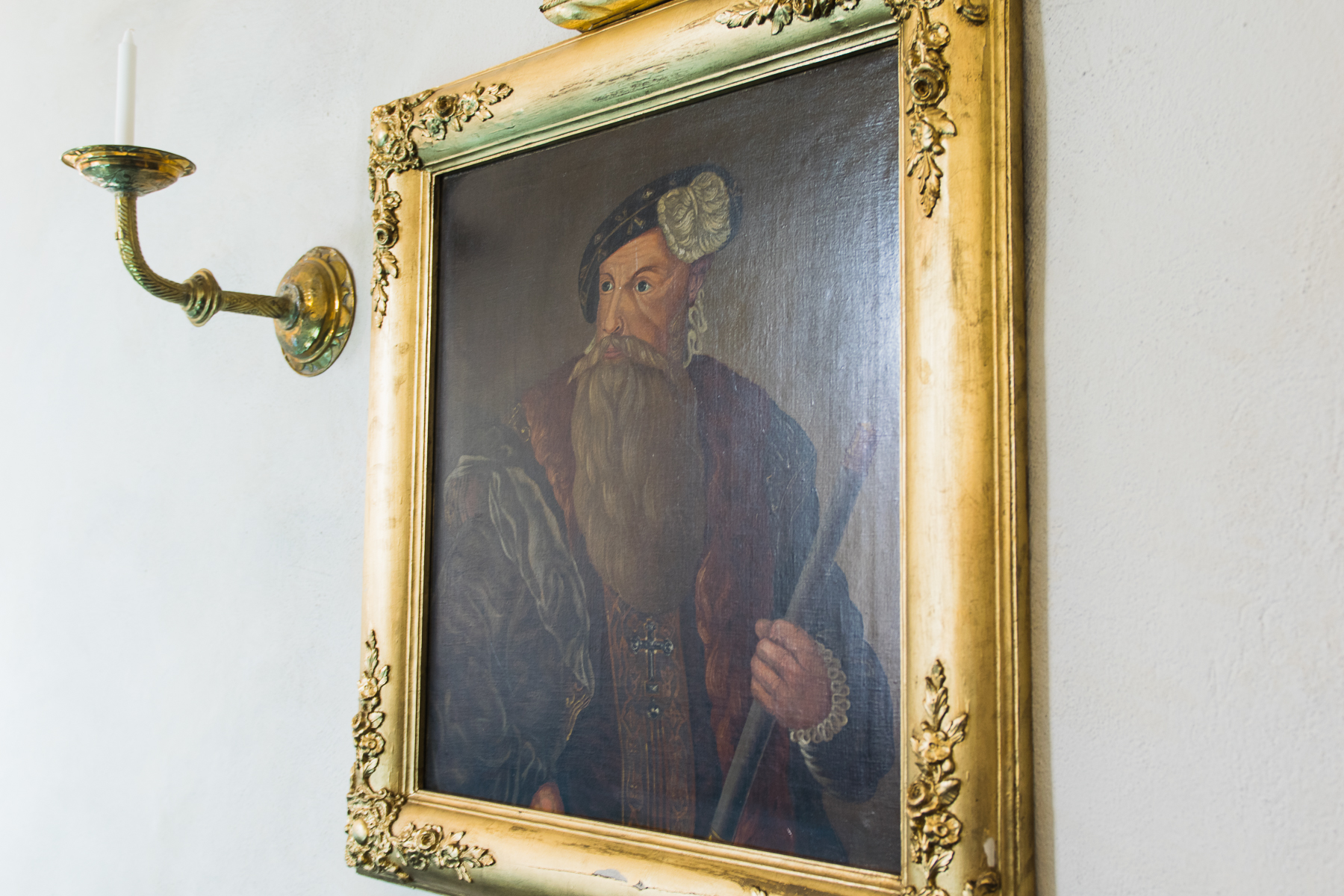 Painting of Gustav Wasa