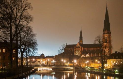 Uppsala by night CC